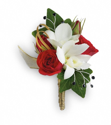 Star Studded Boutonniere in Naples FL, Gene's 5th Ave Florist