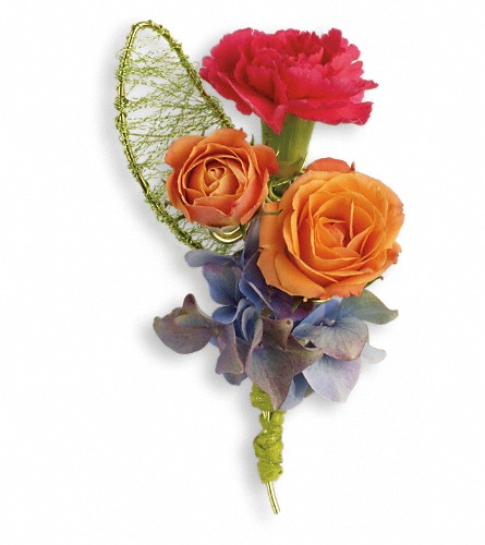 You Glow Boutonniere in Oklahoma City OK, Capitol Hill Florist and Gifts