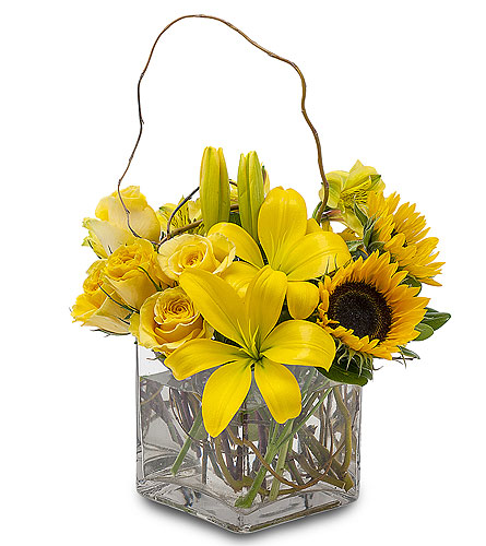 Sunny Side Up in Amherst NY, The Trillium's Courtyard Florist