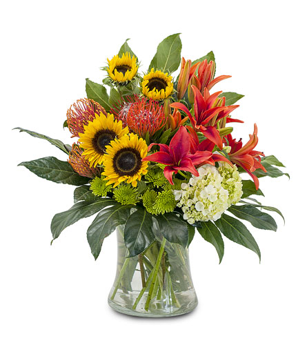 Harvest Sun in East Syracuse NY, Whistlestop Florist Inc