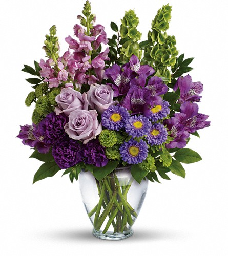 Lavender Charm Bouquet in Chicago IL, Henry Hampton Floral