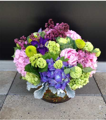 Purple Rain Bouquet in Bellevue WA, CITY FLOWERS, INC.