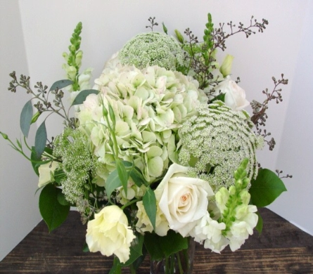 White Wonder in North Vancouver BC, Special Moments Flowers And Gifts