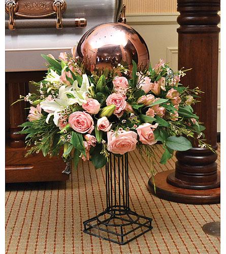 Gazing Globe Keepsake Arrangement In Dearborn Heights Mi English Gardens Florist