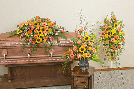Heaven's Sunset Trio in Fort Worth TX, TCU Florist