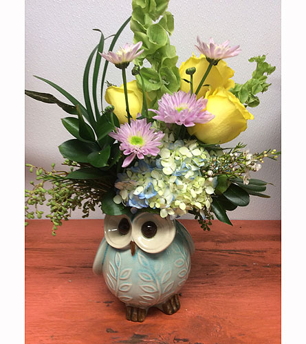 Bright Owl in Ammon ID, Petal Passion