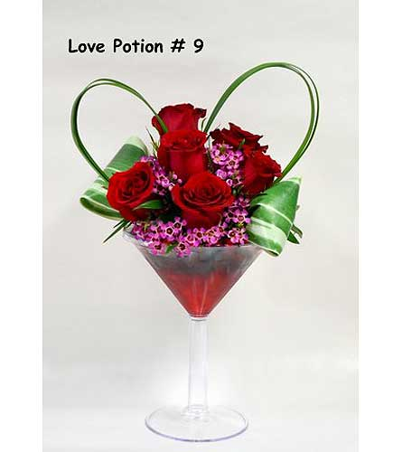 Love Potion Number 9 in Albuquerque NM, Silver Springs Floral & Gift