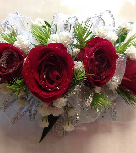 Red & Silver in Katy TX, Kay-Tee Florist on Mason Road