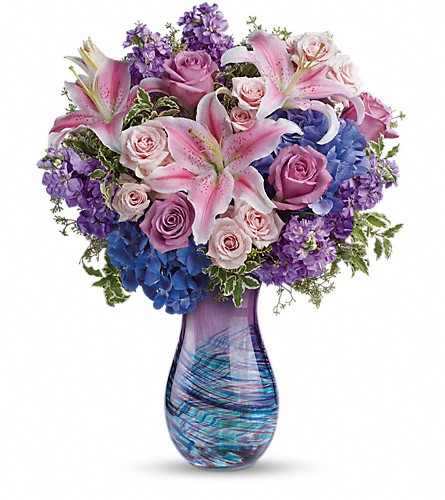 Teleflora's Opulent Artistry Bouquet in Belford NJ, Flower Power Florist & Gifts