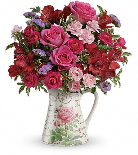 Teleflora's Simply Adored Bouquet in Columbus OH, OSUFLOWERS .COM