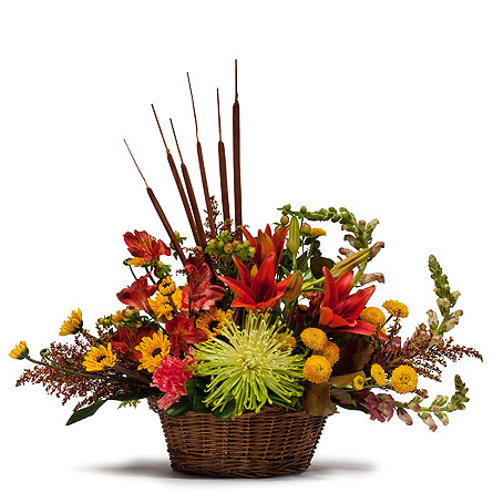 Abundant Basket in Abington MA, The Hutcheon's Flower Co, Inc.
