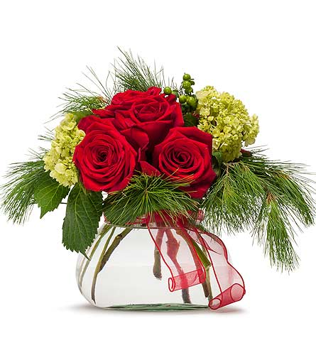 Seasons Greetings in Kalispell MT, Flowers By Hansen, Inc.