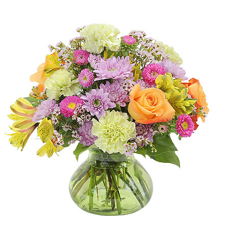 Spring Glory in Spartanburg SC, A-Arrangement Florist