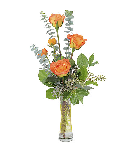 Exeter florists exeter pa robin hill florist orange simplicity in exeter pa robin hill florist mightylinksfo
