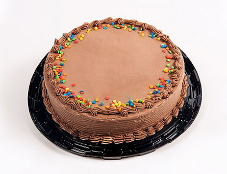 Chocolate Birthday Cake with Sprinkles in Timmins ON, Timmins Flower Shop Inc.