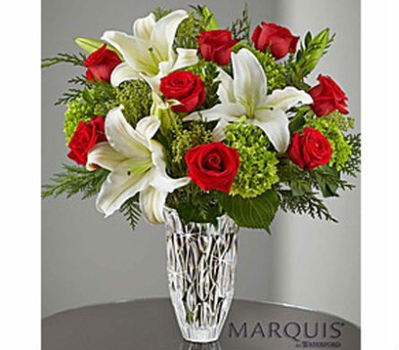 Marquis by Waterford® Holiday Arrangement in Elk Grove CA, Flowers By Fairytales