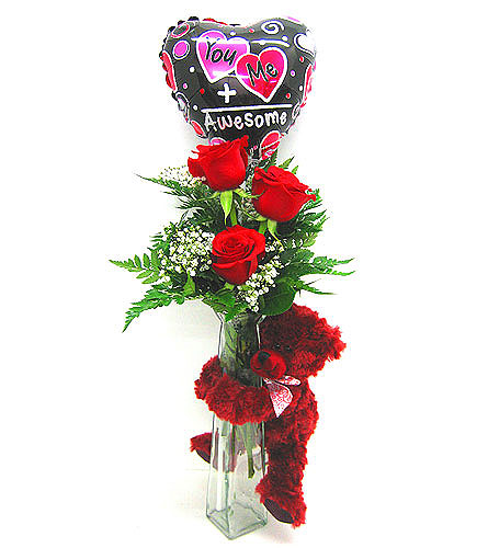 Red Rose Hugs in Oklahoma City OK, Array of Flowers & Gifts