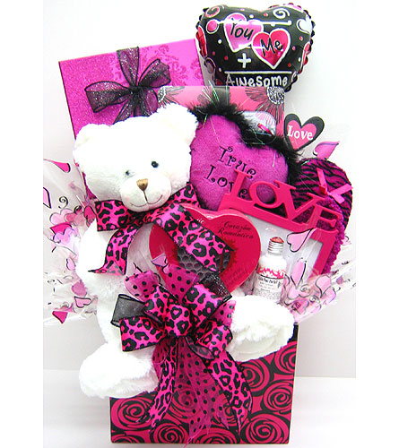 GB348 ''Pink-a-licious Gift Basket'' in Oklahoma City OK, Array of Flowers & Gifts