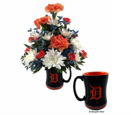 Official Tiger Coffee Mug in Southfield MI, Thrifty Florist