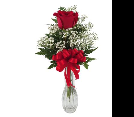 Single Rose Bud Vase In Southfield Mi Thrifty Florist