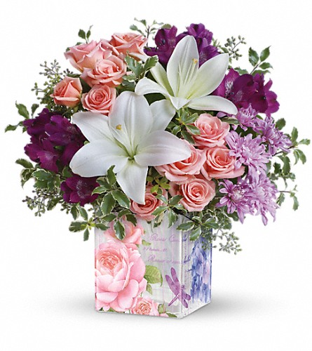 Teleflora's Grand Garden Bouquet in Royersford PA, Three Peas In A Pod Florist