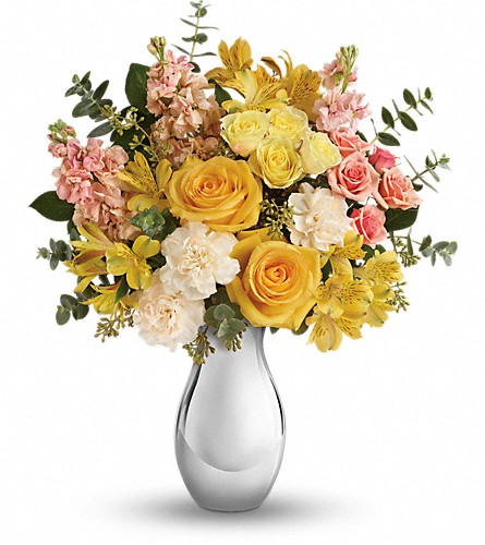 Teleflora's Soft Reflections Bouquet in DeKalb IL, Glidden Campus Florist & Greenhouse