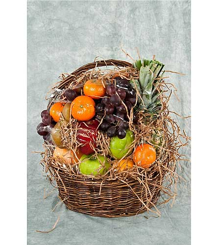 Seasonal Fruit Basket in Great Neck NY, United Floral