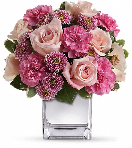 Teleflora's Treasure Her Bouquet in Bakersfield CA, White Oaks Florist