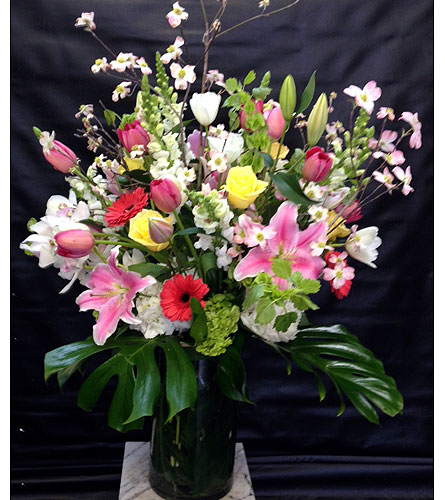 A Breath of Spring in New York NY, Fellan Florists Floral Galleria