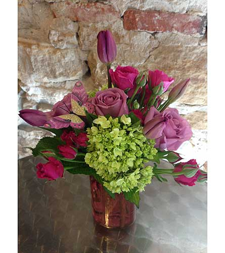 Custom Arrangement in Perth ON, Kellys Flowers & Gift Boutique
