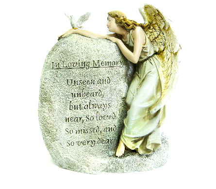 In Loving Memory Angel in Adrian MI, Flowers & Such, Inc.