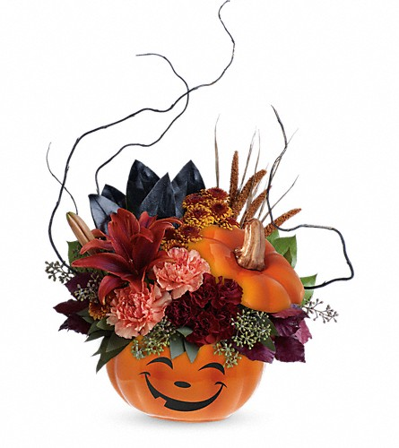 Teleflora's Halloween Magic Bouquet in Woodbridge NJ, Floral Expressions