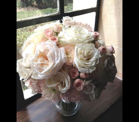View Larger. BLush Garden Roses ...