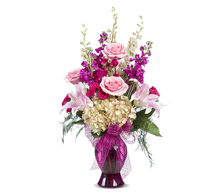 PERFECTLY PINK in Gainesville FL, Floral Expressions Florist