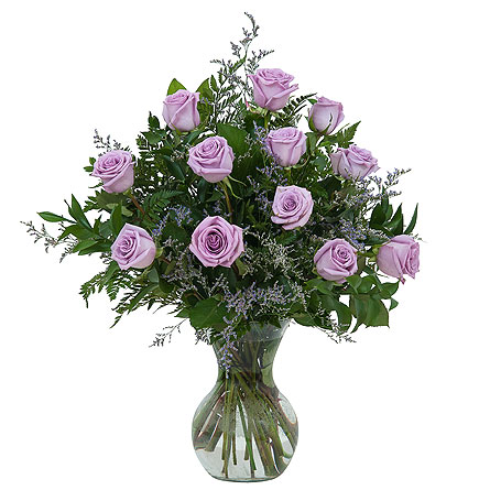 Lovely Lavender Roses in Madison WI, George's Flowers, Inc.