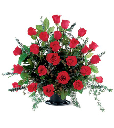 Tradition Rose Basket