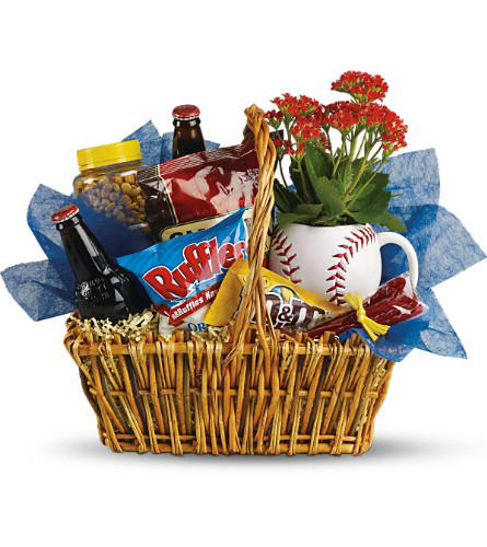 Dad's Play Ball Snack Basket