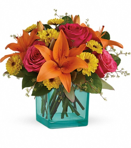 Teleflora's Fiesta Bouquet in Rochester NY, Fabulous Flowers and Gifts