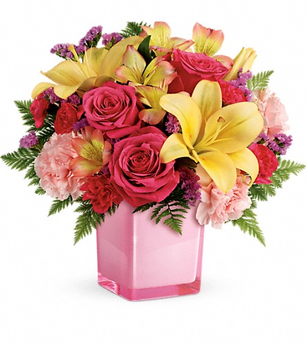 Teleflora's Pop Of Fun Bouquet in Naples FL, Gene's 5th Ave Florist