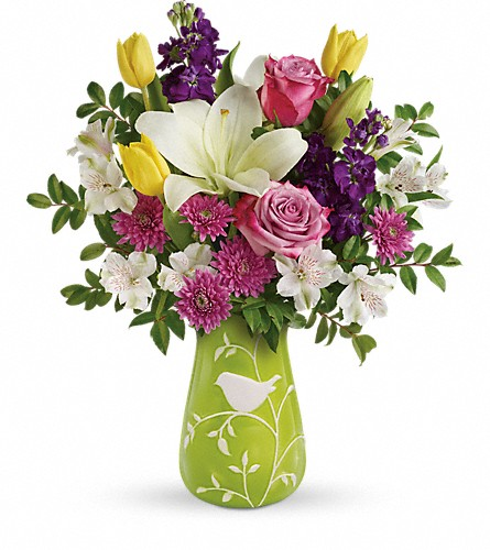 Teleflora's Veranda Blooms Bouquet in Mobile AL, Cleveland the Florist
