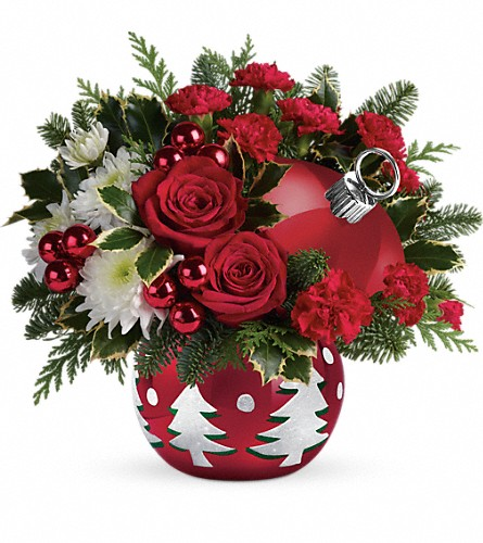 Teleflora's 'Tis The Season Bouquet in Jupiter FL, Anna Flowers
