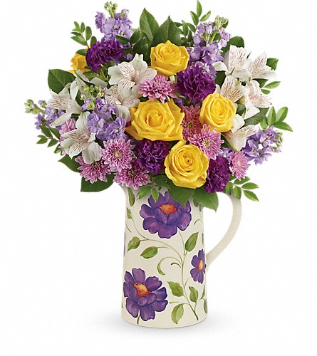 Teleflora's Garden Blossom Bouquet in Reading PA, Heck Bros Florist