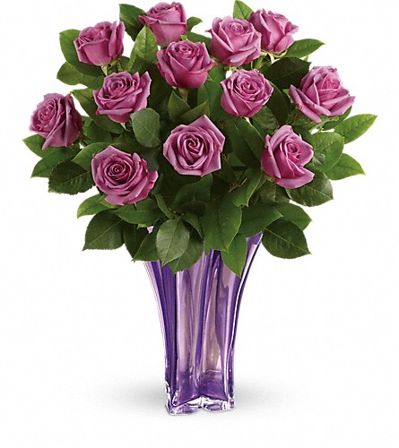 Teleflora's Lavender Splendor Bouquet in Jersey City NJ, Entenmann's Florist