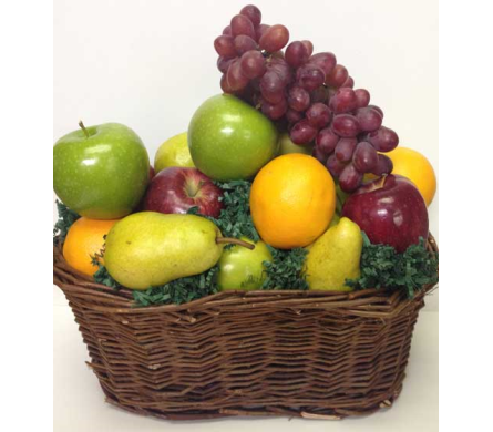 Fruit in Wicker Basket in Wyoming MI, Wyoming Stuyvesant Floral