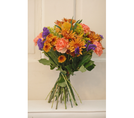 Euro Seasonal Hand Tied Bouquet in Winchester VA, Flowers By Snellings