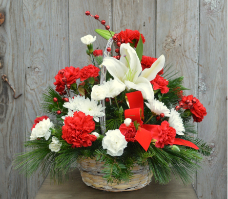 Christmas Basket in Utica NY, Chester's Flower Shop And Greenhouses