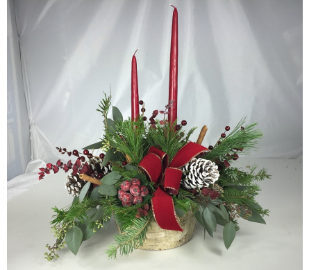 Country Christmas by Rubrums in Ossining NY, Rubrums Florist Ltd.