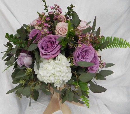 Lavender Rose Bouquet in St Catharines ON, Vine Floral