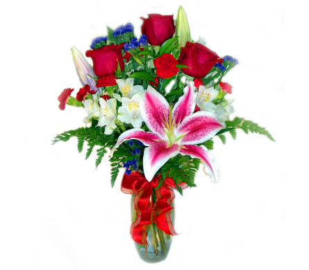 Valentine's Classic Trio in Bend OR, All Occasion Flowers & Gifts