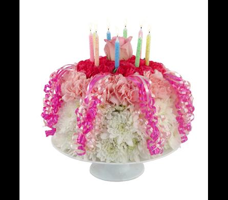 Birthday Cake Wishes Bouquet in Southfield MI Thrifty Florist